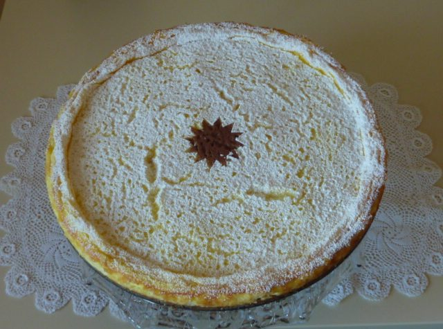 Cheesecake με πορτοκάλι